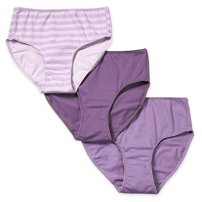 e1beeefa7c40 Valair Women's Full Cut Cotton/Lycra Blend Briefs - Pack of 3 at ...