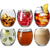 Argon Tableware Tondo Water / Whisky / Juice Tumbler Glasses - Gift Box of 6 Glasses - 405ml (14oz)