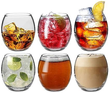 Tondo Rotondo Bicchiere Senza Fondo.Argon Tableware Bicchieri Tondo Tipo Tumbler Per Acqua