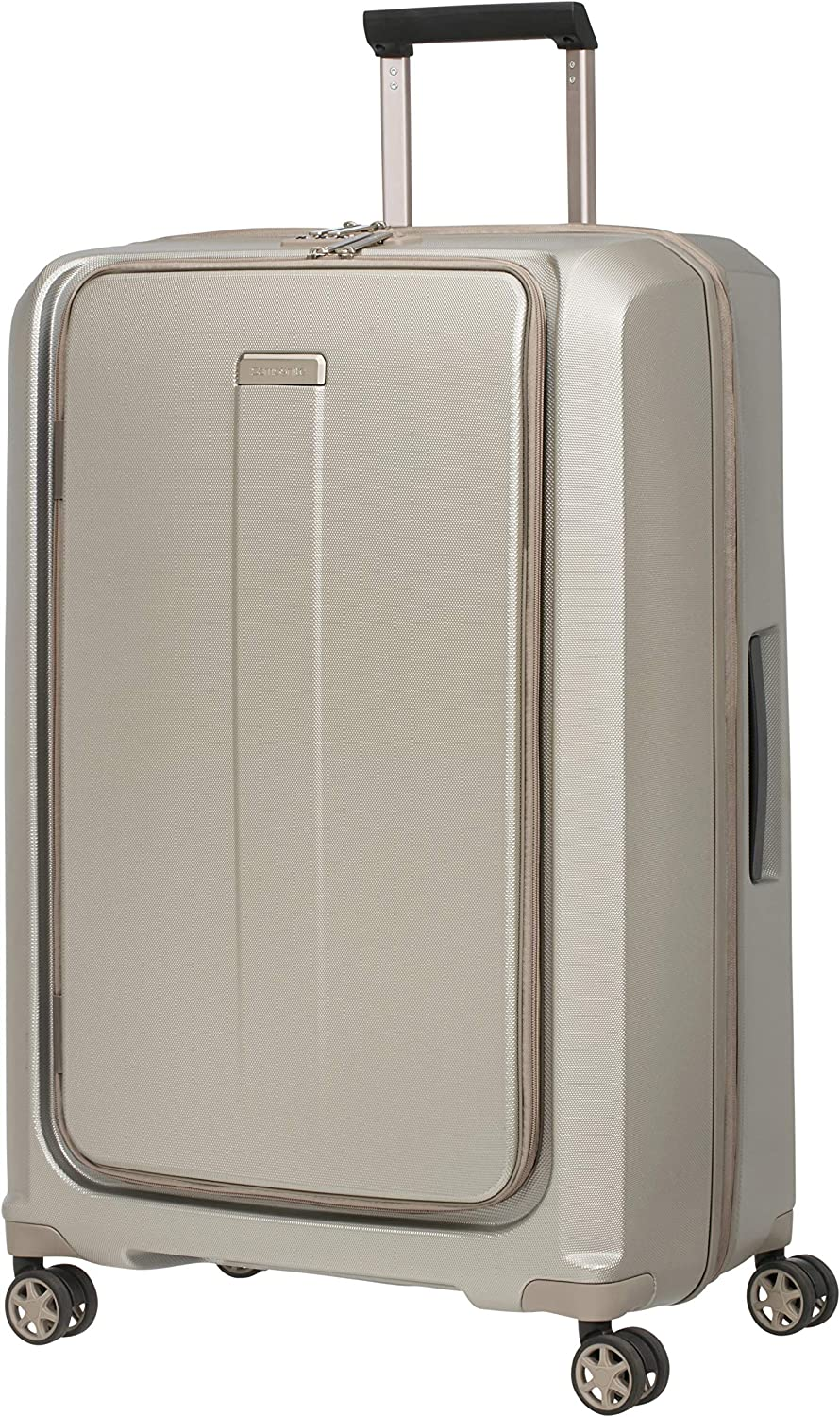 Samsonite Prodigy - Spinner Equipaje de Mano, 75 Centimeters, 112 L, Gris (Ivory Gold)