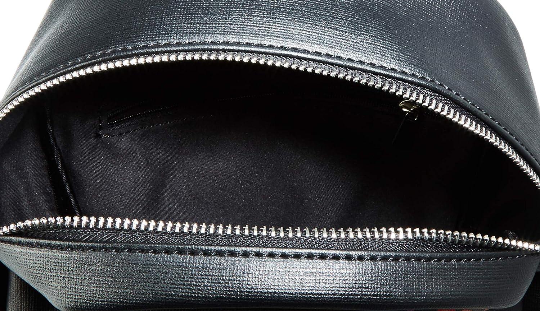 Eferri 0KV1107 Sac bandouli/ère femme Noir Noir 13x28x25 cm W x H x L Negro 001