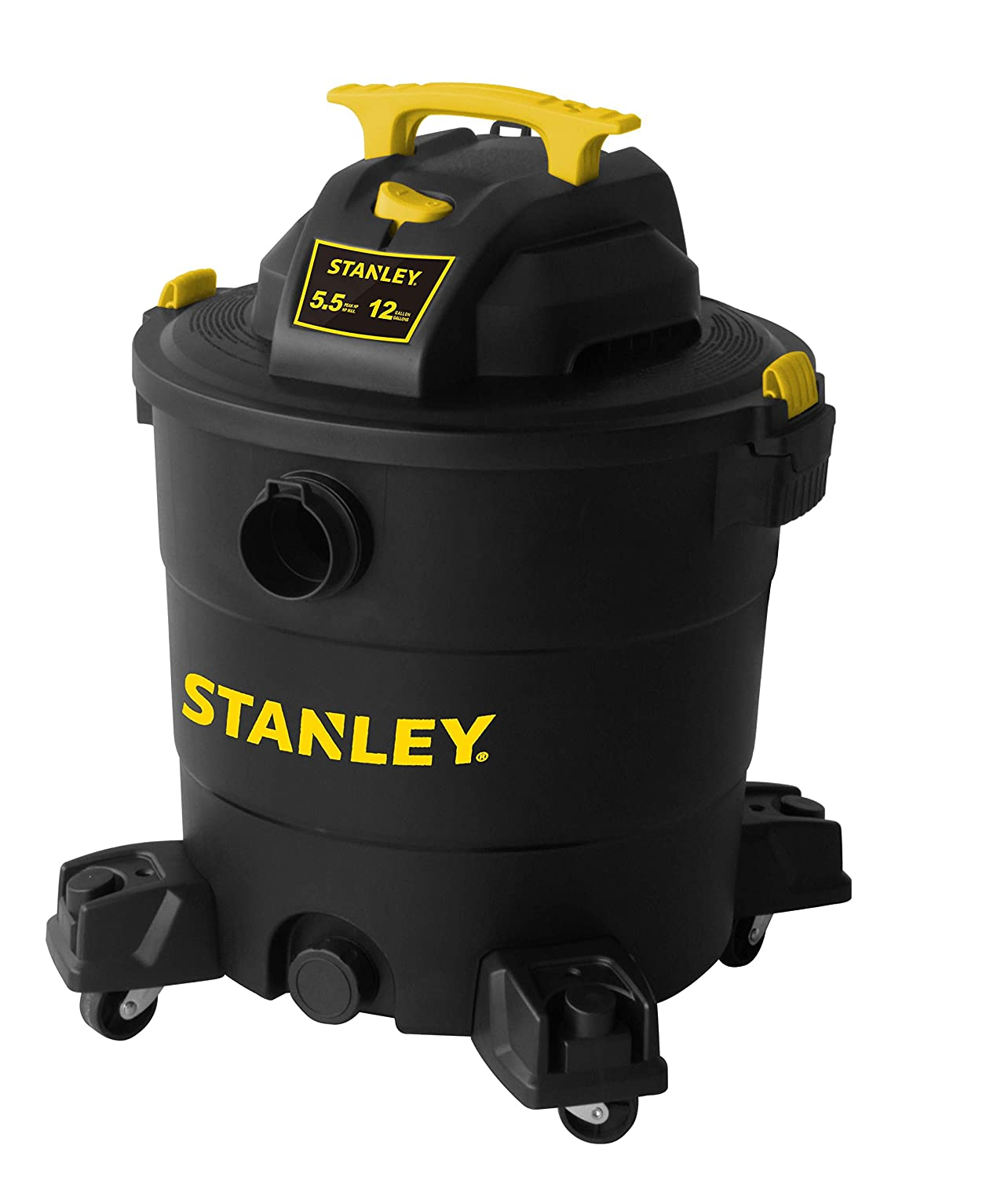 Stanley Wet/Dry Vacuum, 12 Gallon, 5.5 Horsepower