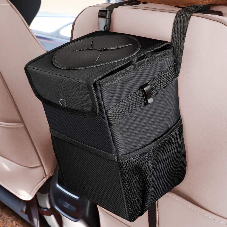 Anchor Car Litter Bag Black and White Car Accessory Bag Car Trash Bag