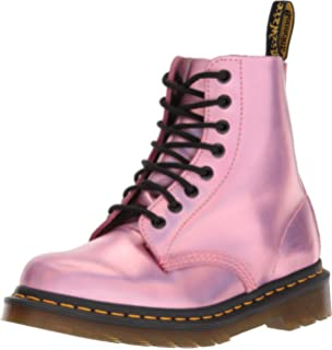 Dr. Martens Womens Pascal RS Mallow Pink Ankle Boot