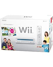 Nintendo Wii Console (White) with Wii Sports and Wii Party
