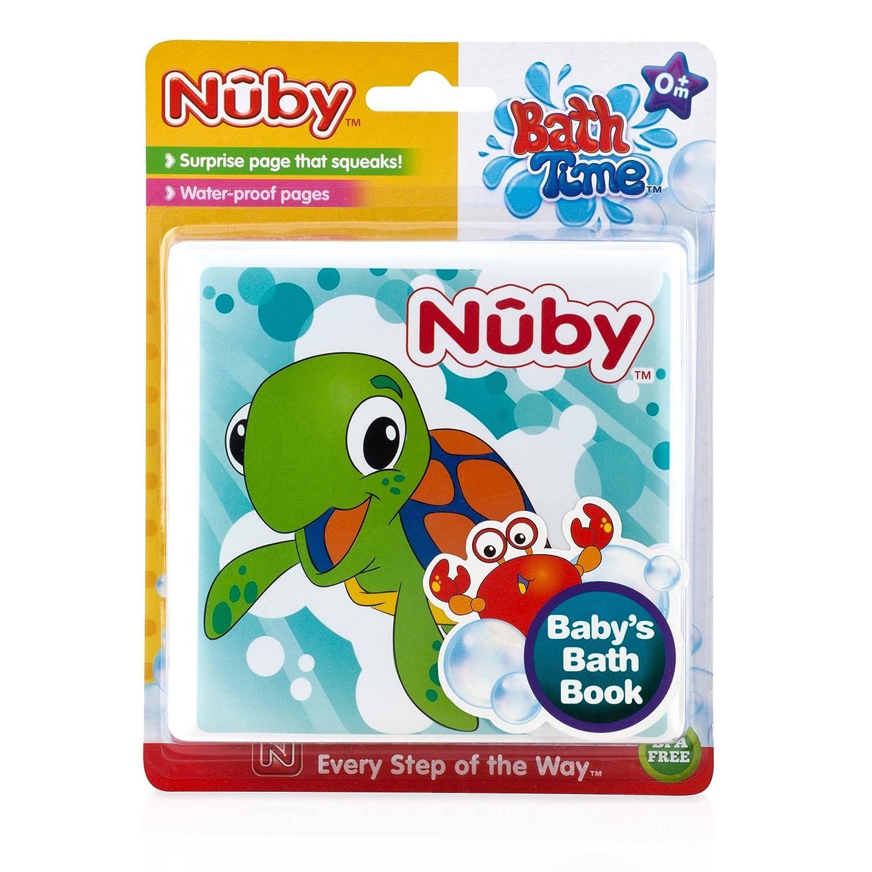 6 Meses N/ûby Libro de Ba/ño para Beb/é