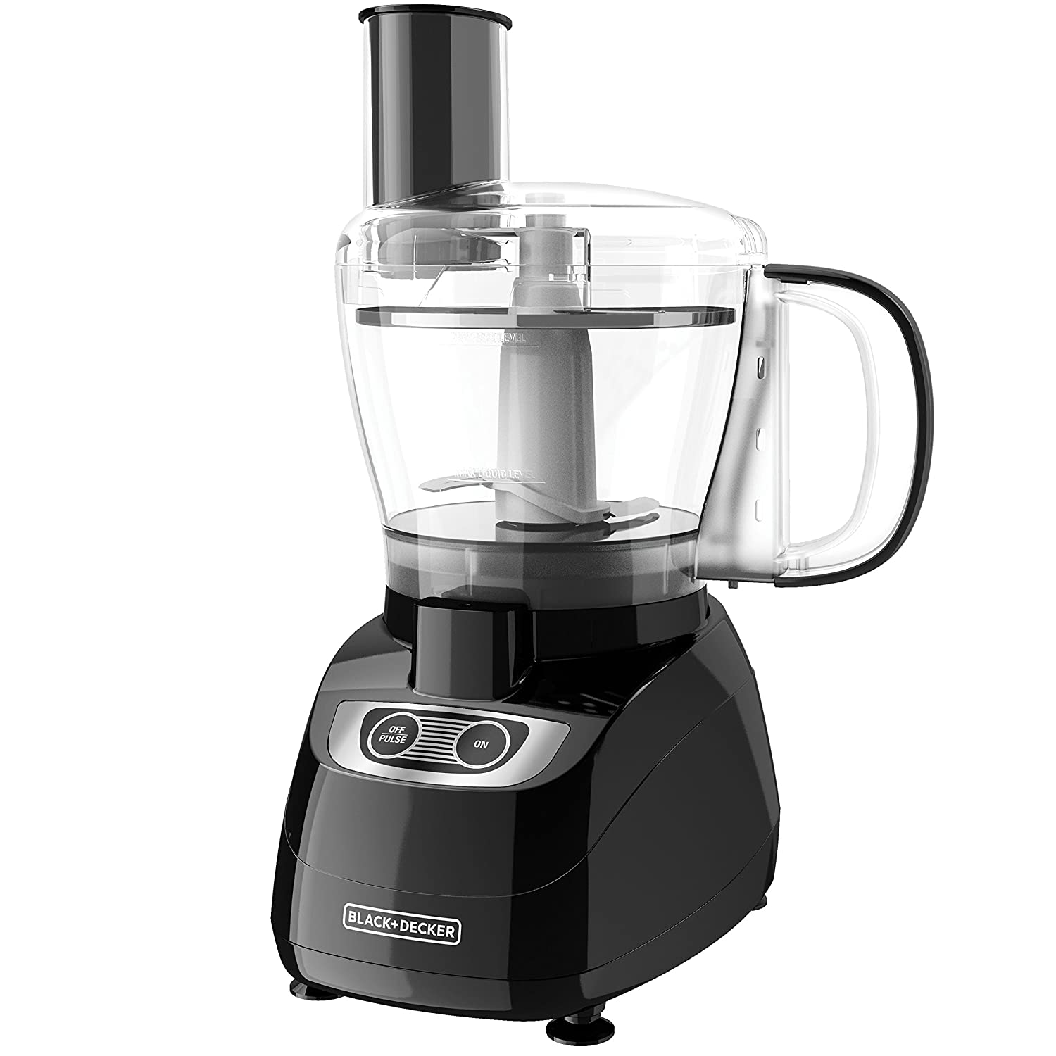 BLACK+DECKER 8-Cup Food Processor, Black, FP1700B