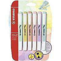 STABILO Swing Cool Pastel - Pack con 6 Evidenziatori Colori Assortiti