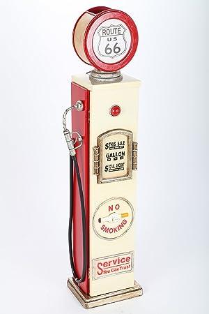 point-home - Estantería para CD con luz, diseño de surtidor de gasolina retro: Amazon.es: Hogar