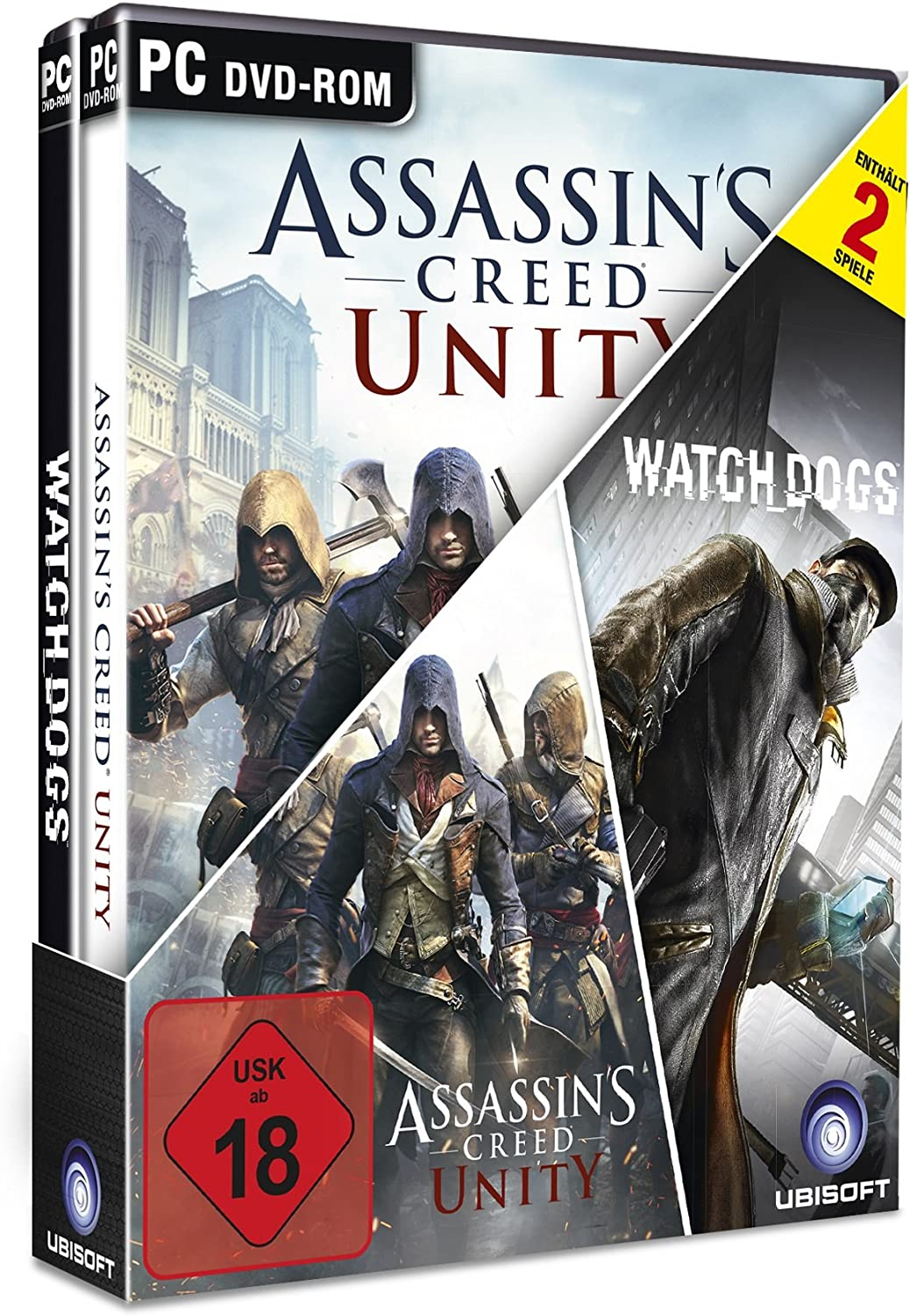 Big Hit Pack: Assassins Creed Unity & Watch Dogs [Importación ...