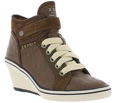 Esprit Women S Ankle Boots Brown 073ek1w010 E216 Size 40 Amazon Co
