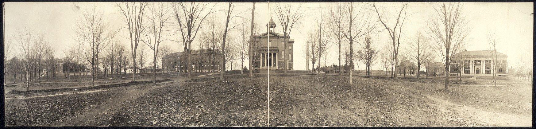 Photo Bates College, Lewiston, Me. 1910