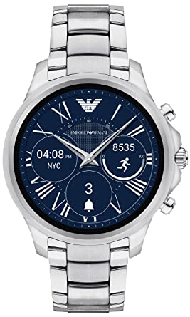 d3f847f8 Amazon.com: Emporio Armani Touchscreen Smartwatch ART5000: Watches