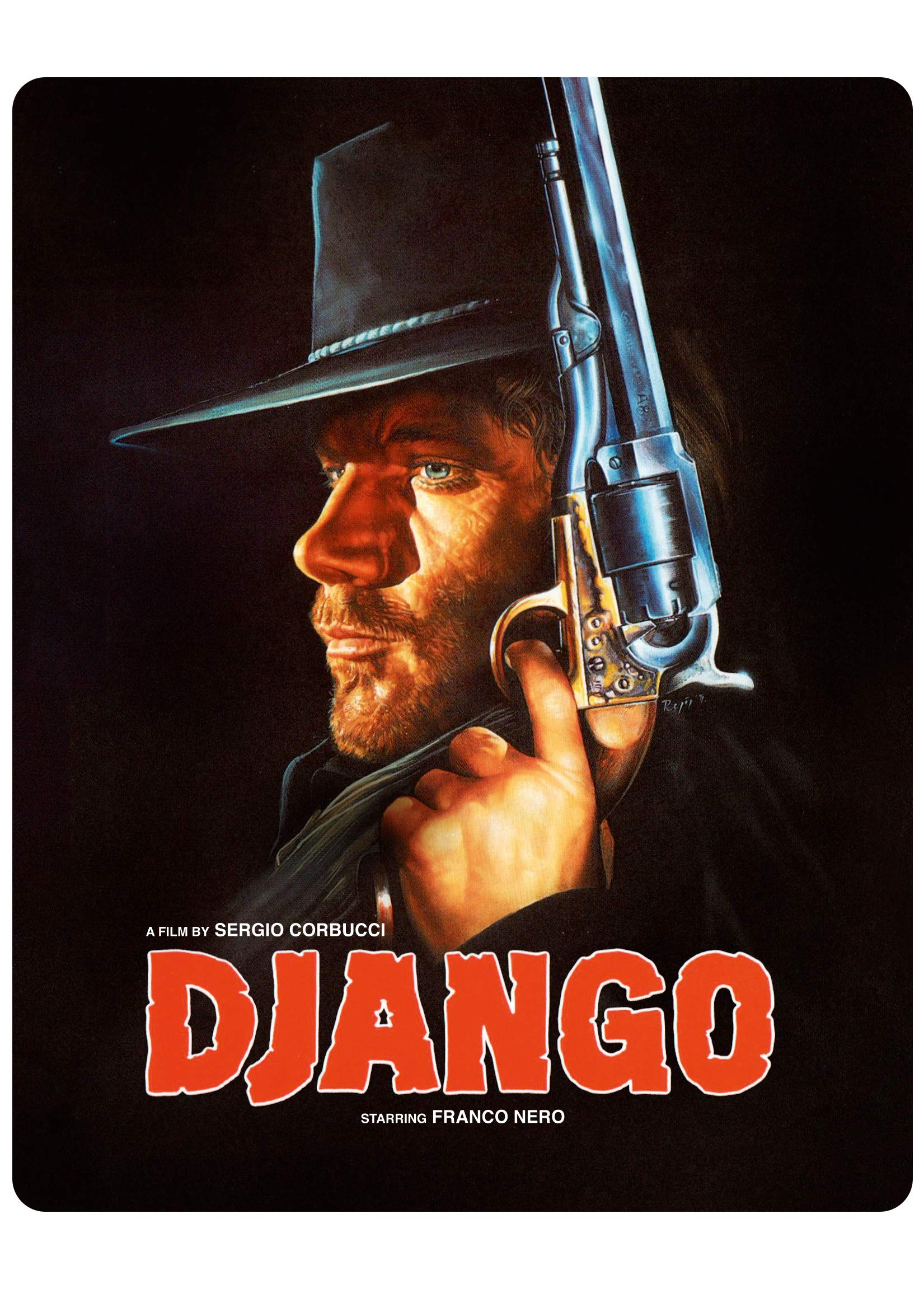Blu-ray : Django (Limited Edition, Steelbook)