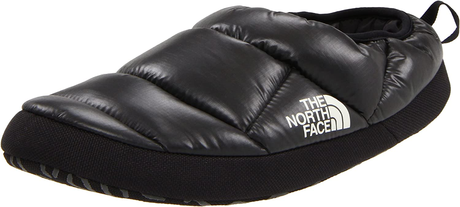 north face slippers mens gold