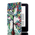 Capa Case Novo Kindle 8a Geração WB® Auto Liga/Desliga  - Ultra Leve Árvore