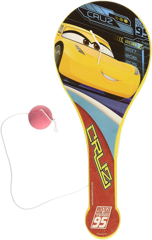Disney Se vende en 1 pieza - Bola de pádel Lightning McQueen para coches, juguetes, ideal para fiestas de cumpleaños, regalos, bolsas - WONDERS SHOP USA: ...