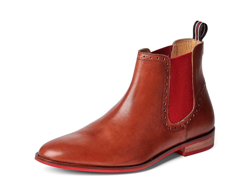 Carlos Santana Men's Mantra Leather Suede Chelsea 6