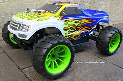 Monster Truck For Sale >> Amazon Com Hot Sale Rc Nitro Gas Monster Truck Hsp 1 10