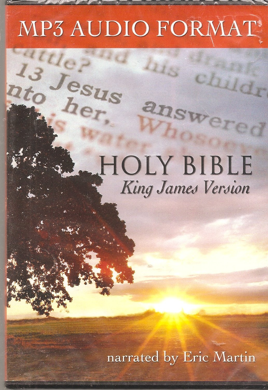 Holy Bible (King James Version) MP3 Audio Format pdf epub