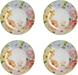 Nantucket Home Floral Melamine Dinner Plates Set of 4  sc 1 st  Amazon.com & Amazon.com | Melamine Plates Plastic Plates Dinner Plates Set of ...