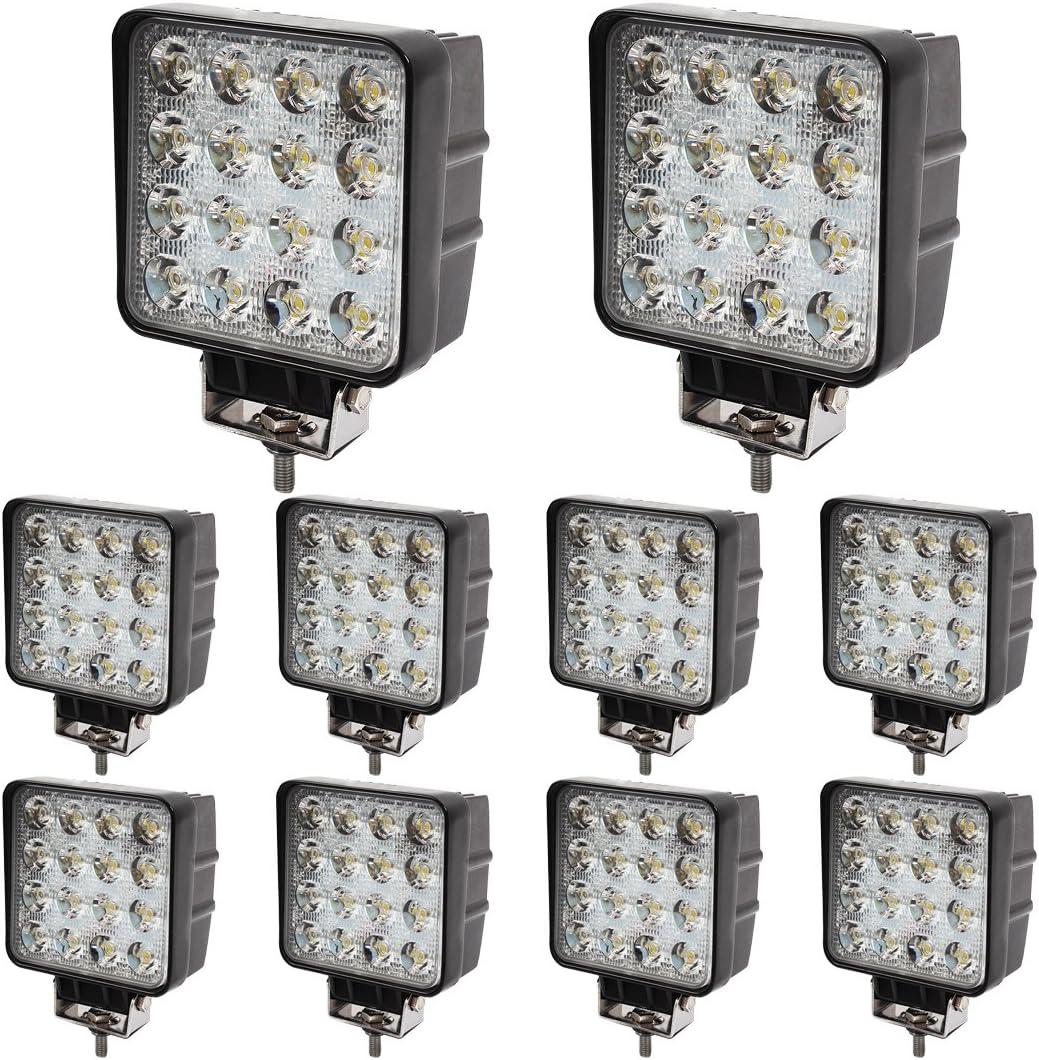 48W Foco de trabajo LED 4.3