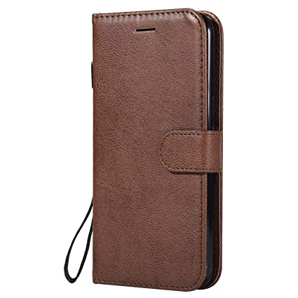 new arrival aa6f7 63384 Amazon.com: Moto G4 / G4 Plus Case, Lomogo Leather Wallet Case with ...