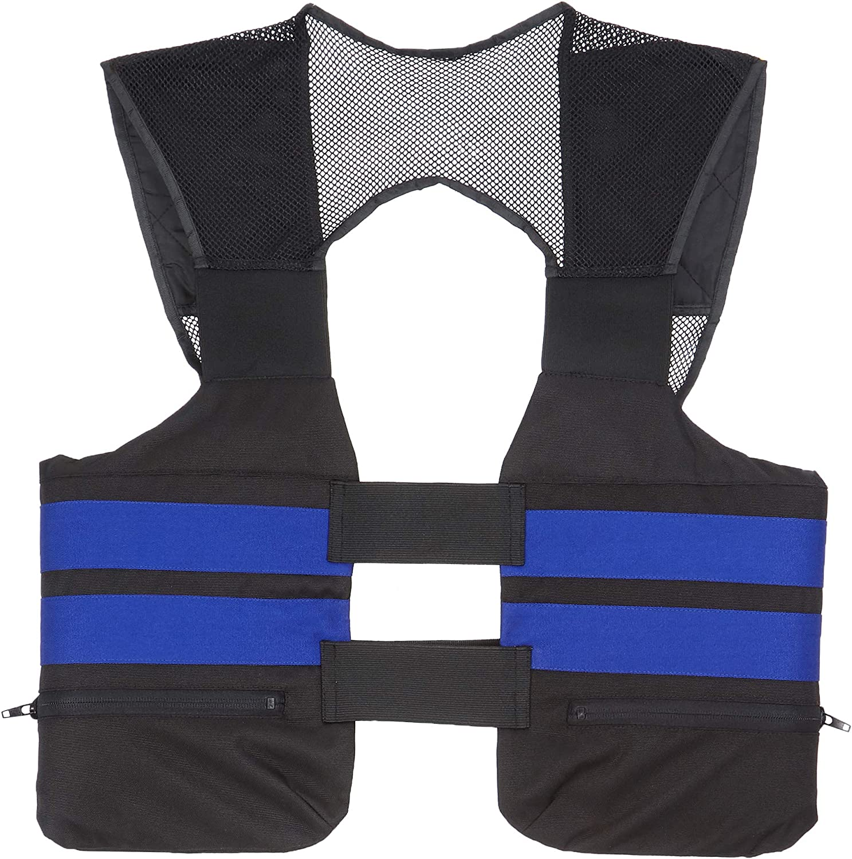 NERVE Protec kartbahn Kart Rippe protezione Taglia XL Blu
