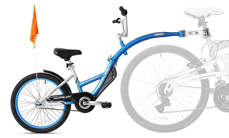 Weeride Pro Pilot Aluminium - Remolque para Bicicletas, Color Azul: Amazon.es: Deportes y aire libre