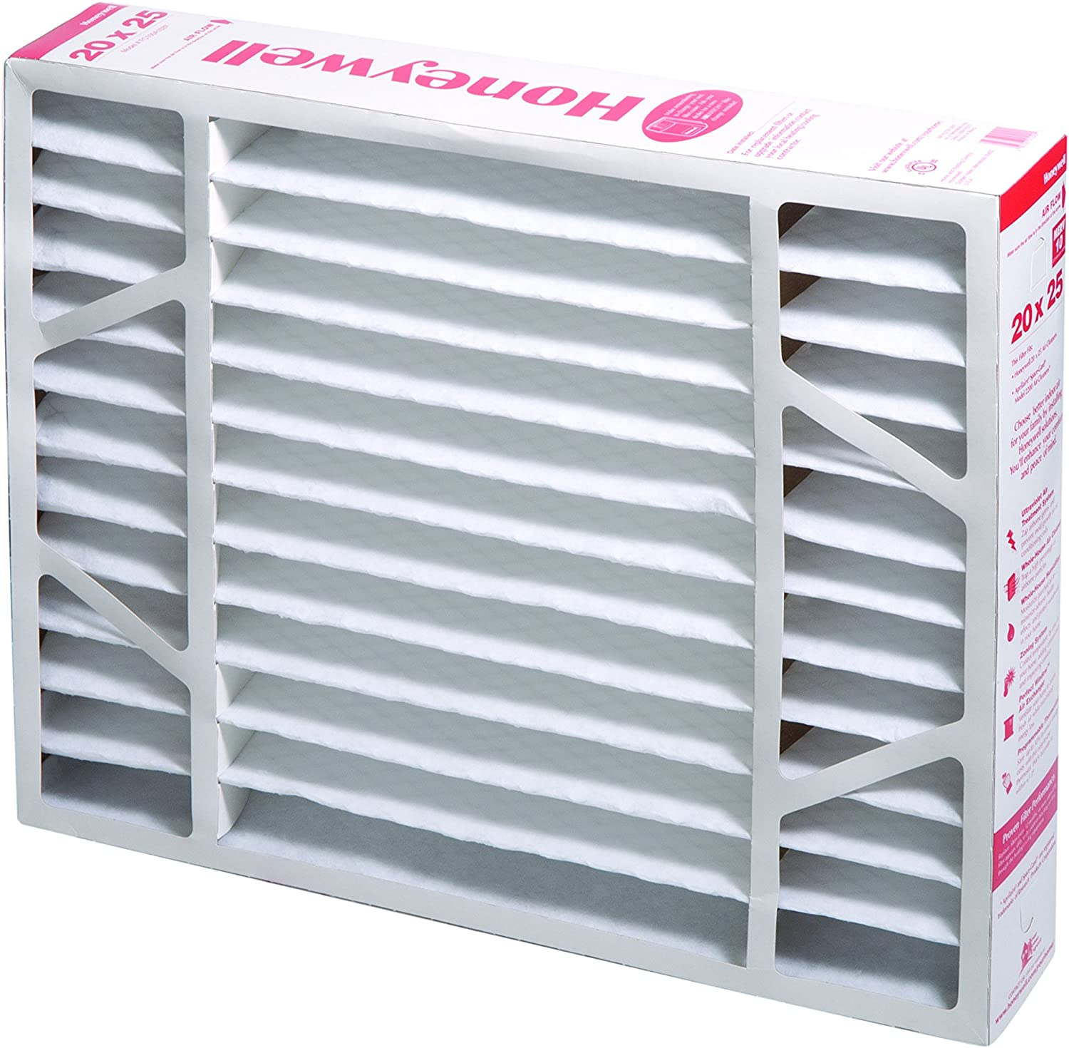 Honeywell FC100A1037 Ultra Efficiency Air Cleaning Filter, 20X25-Inches (MERV-11) - Replacement Furnace Filters -