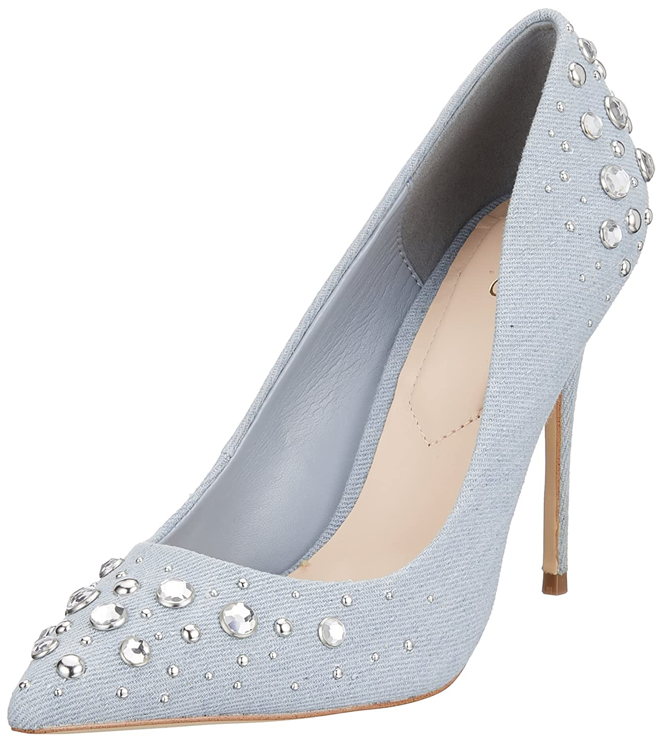 Aldo Kristensen, Scarpe con Tacco Donna  Blu (Light Denim 2)