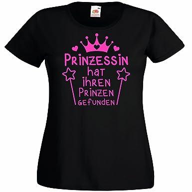 Damen T-Shirt Prinzessin Hat Ihren Prinzen Gefunden für Den  Junggesellenabschied (Frauen Braut b120fb38df