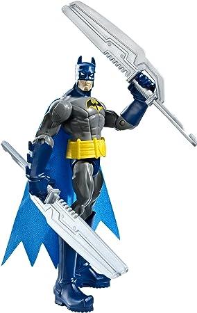 Batman - Figuras de acción, Pack Heroe Villano, Armadura Gris ...