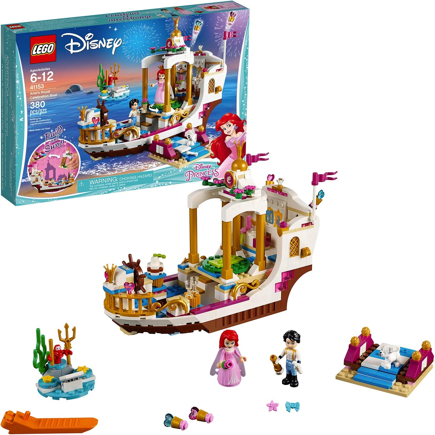 Lego Princess 41153 Ariel Royal Wedding