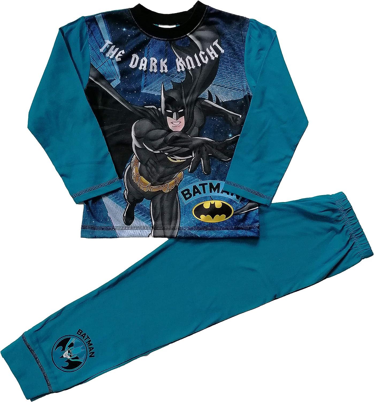 Batman Pigiama per bambini dai 4 ai 10 anni motivo
