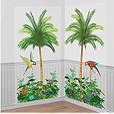 85 x 165 cm Hawaii Wanddeko 3 Strand Folienbilder Insel Wand Bilder Raumdeko Feste & Besondere Anlässe