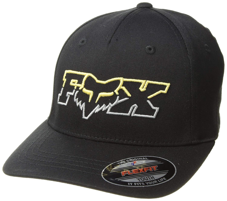 separation shoes 8ace7 1d5cf Fox Boys  Big Youth DUELHEAD Flexfit HAT, Black, OS at Amazon Men s  Clothing store