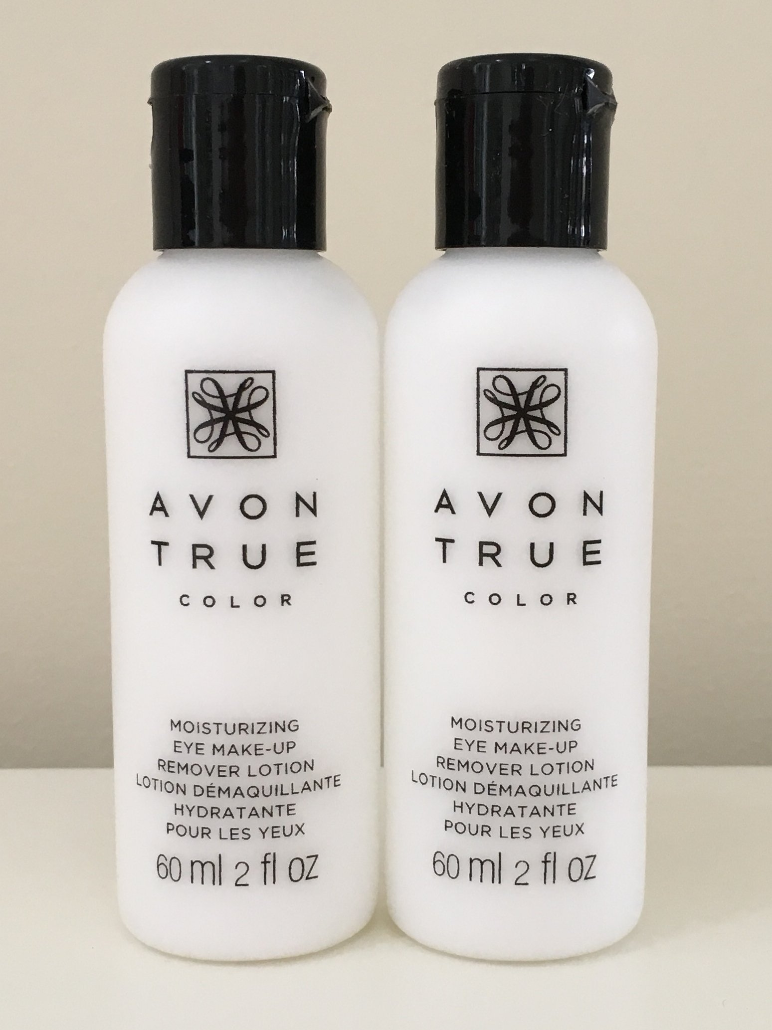 Set of 2 Avon Moisture Effective Eye Makeup Remover Lotion,60 ml/ 2 fl oz each