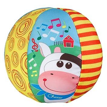 Chicco Ball Big & Small Pelota Musical, Multicolor, 6-12 Meses ...