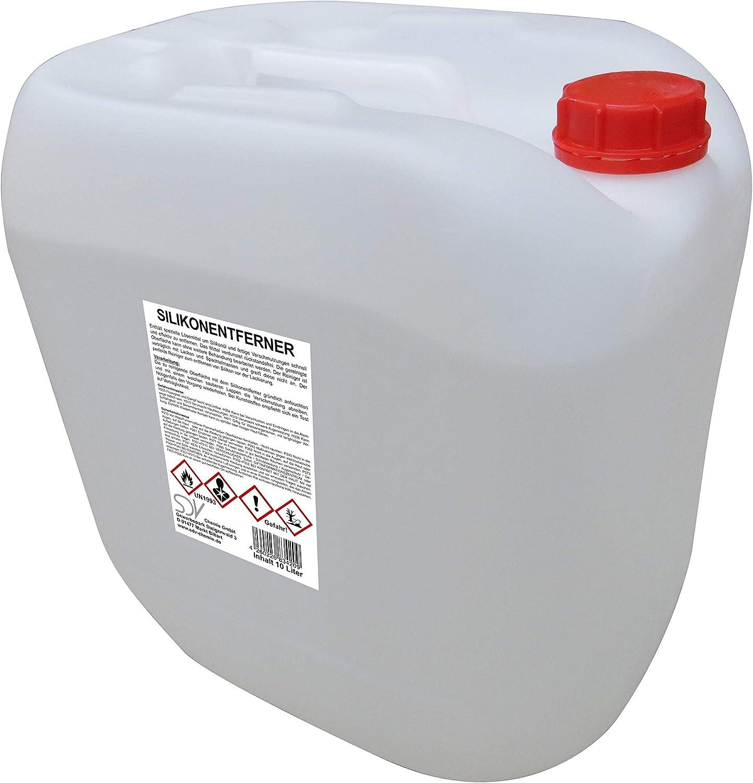 Sdv Chemie Silikonentferner 1x 10 Liter 10l Für Lackierer Siliconentferner Entfetter Reiniger Auto