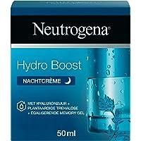 Neutrogena Hydro Boost Nachtcrème, intensief hydraterende en herstellend masker, met hyaluronzuur, 100% plantaardige…