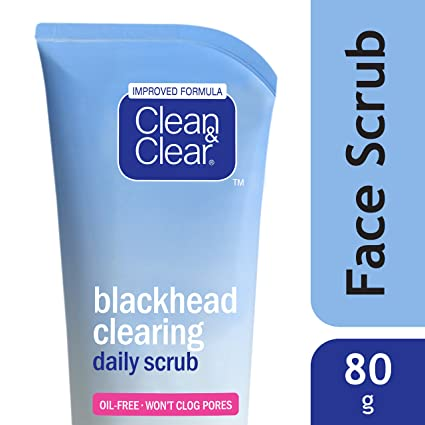 Clean & Clear Black Head Scrub, 80gm