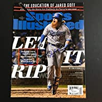 $126 » Justin Turner Signed Sports Illustrated Baseball 2020 Dodgers Autograph JSA WS - Autographed MLB Magazines
