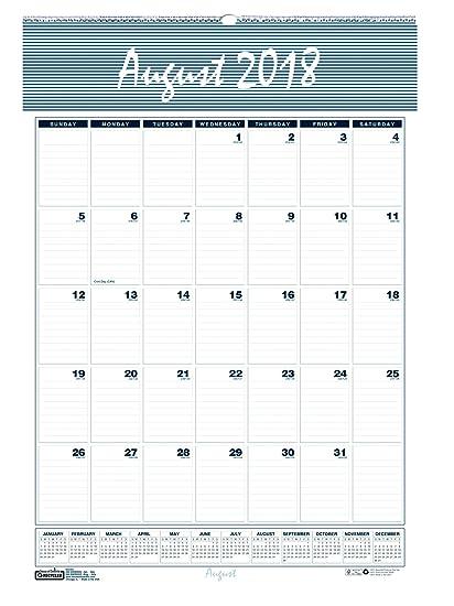 House of Doolittle 2018 - Calendario mensual de pared 2019 ...