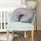 Minky Nursing Pillow Cover   Stars Pattern