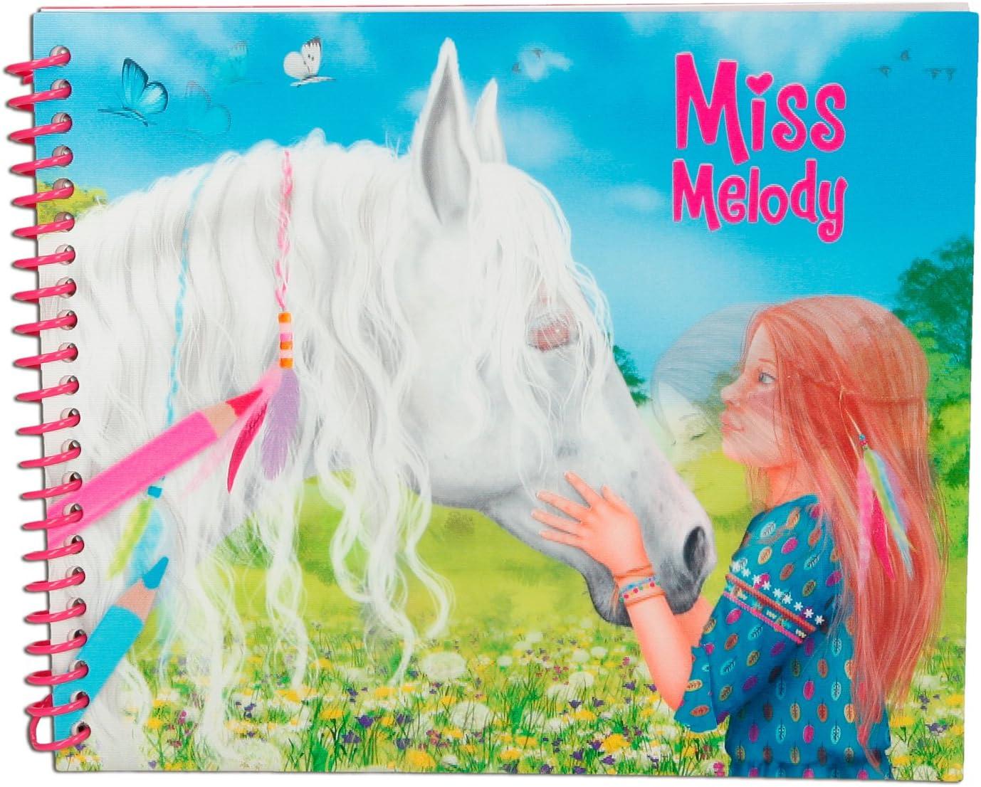 Depesche 8548 Livre A Colorier Miss Melody Dress Up Your Horse