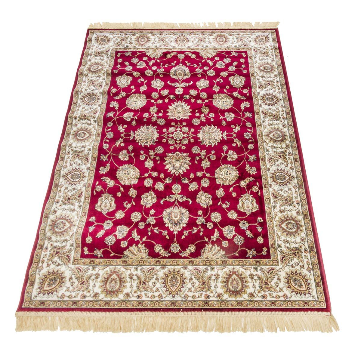 WEBTAPPETI Teppich Oriental Klassisches Sarouk RUBINE 492-rosso cm.200x290 rot
