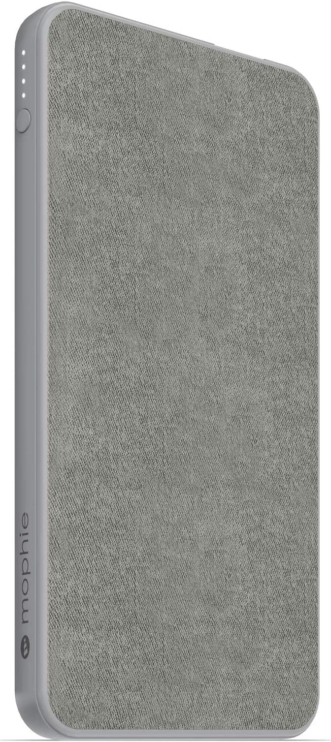 Mophie powerstation Mini - Universal Battery - Made for Smartphones, Tablets, and Other USB-C and USB-A Compatible Devices (5,000mAh) - Grey (401102941)