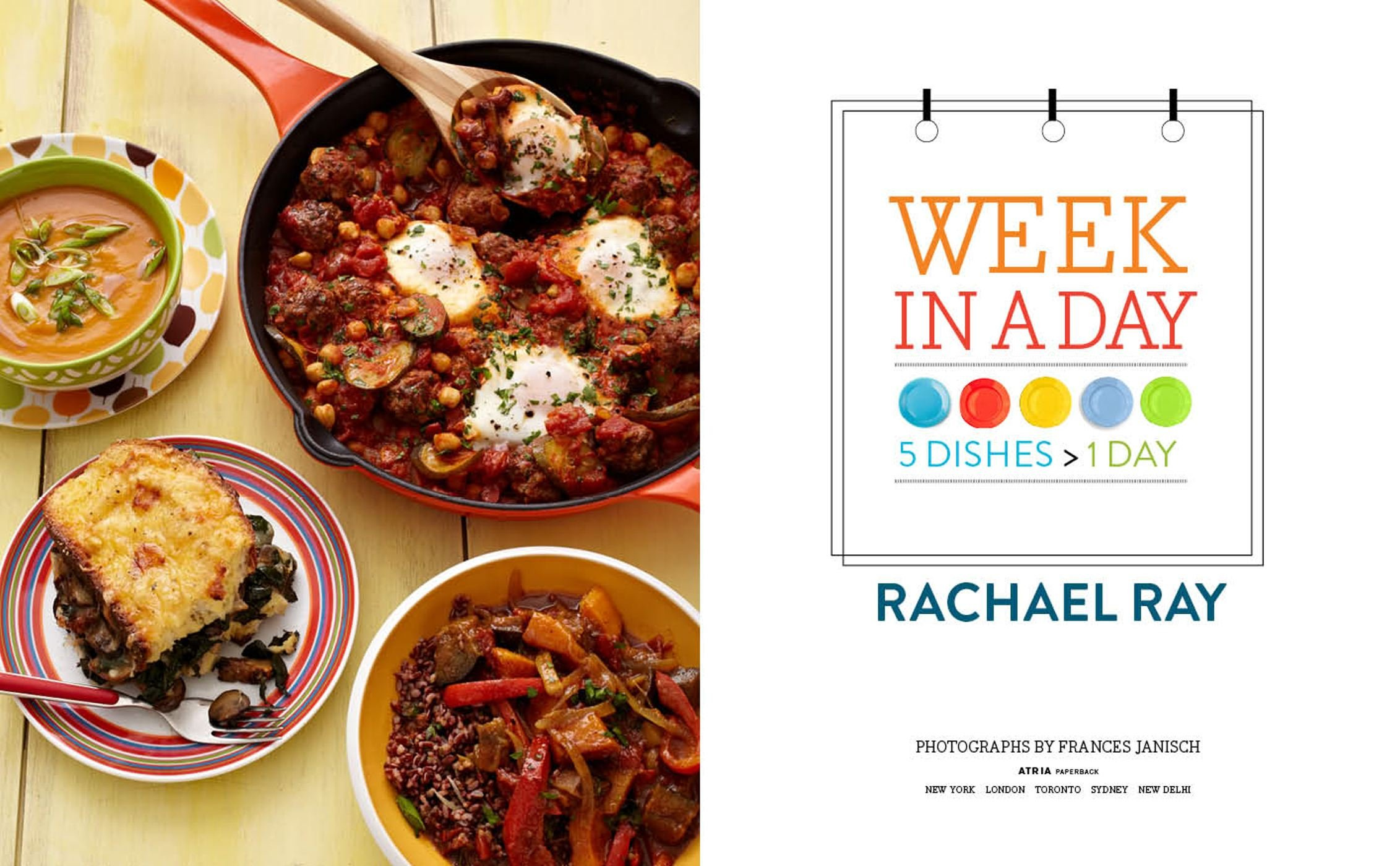 Week In A Day Rachael Ray 9781451659757 Amazon Books