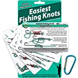 ReferenceReady Easiest Fishing Knots - Waterproof Guide to 12 Simple Fishing Knots